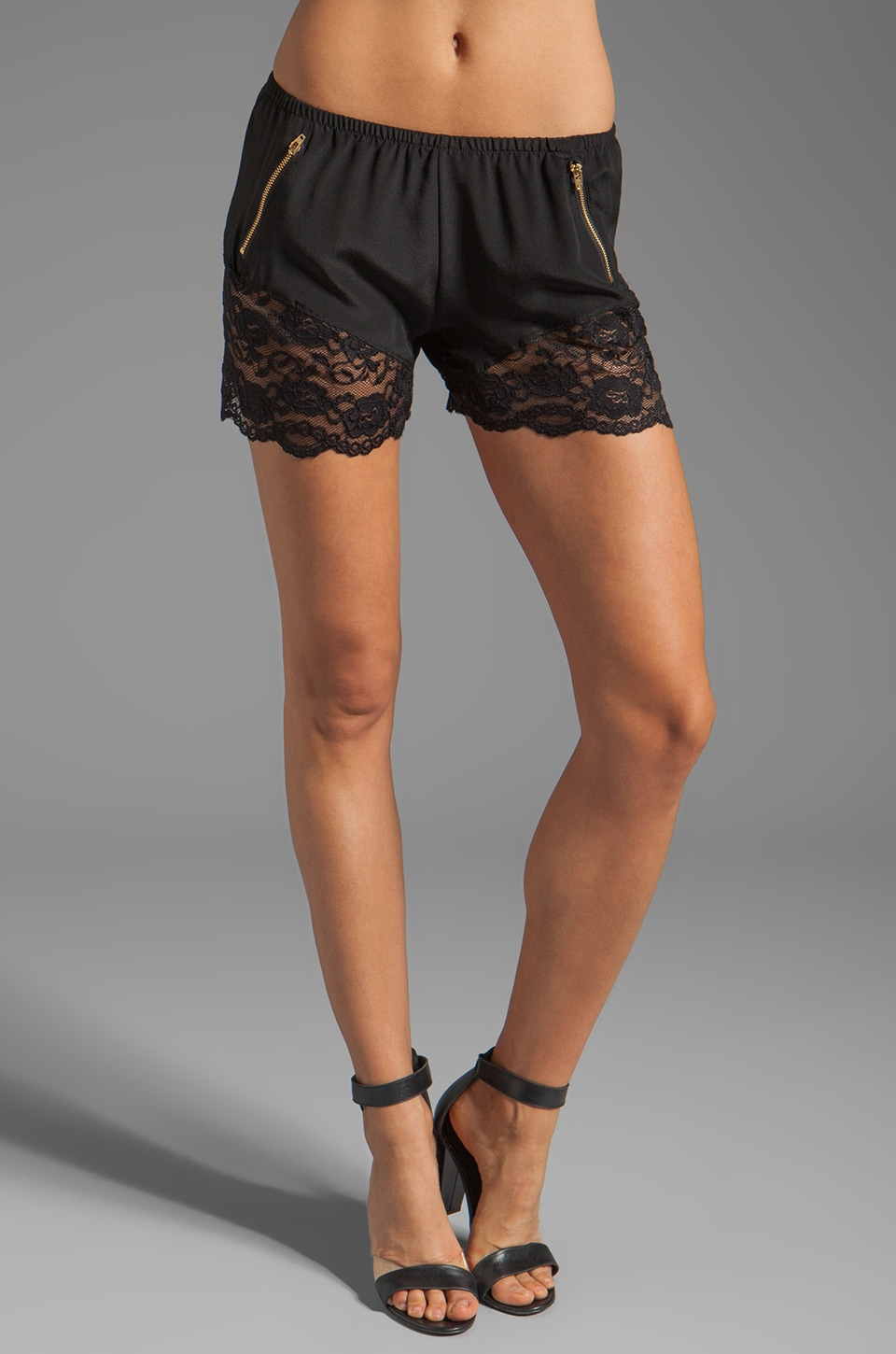 LNA Dreamer Shorts in Black