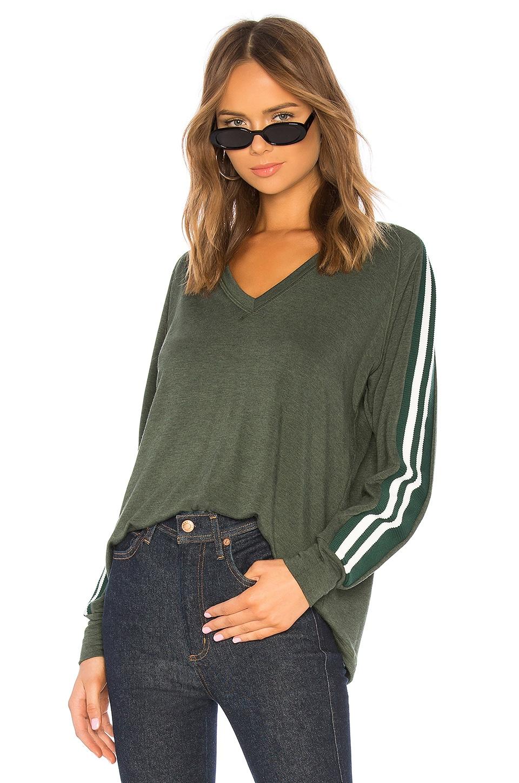 LNA Locker Sweatshirt in Heather Olive