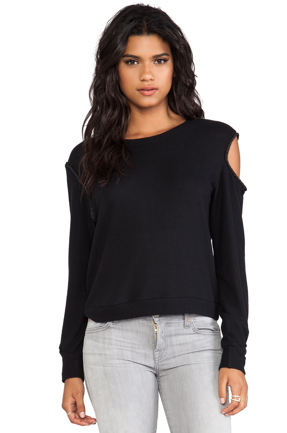 LNA Kimbra Sweater in Black