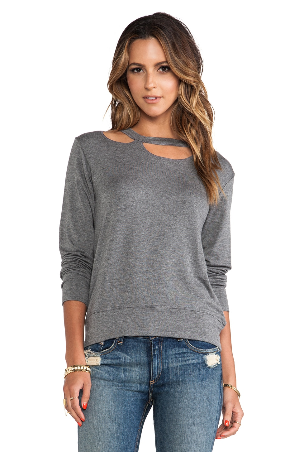 LNA Walker Sweater in Marengo