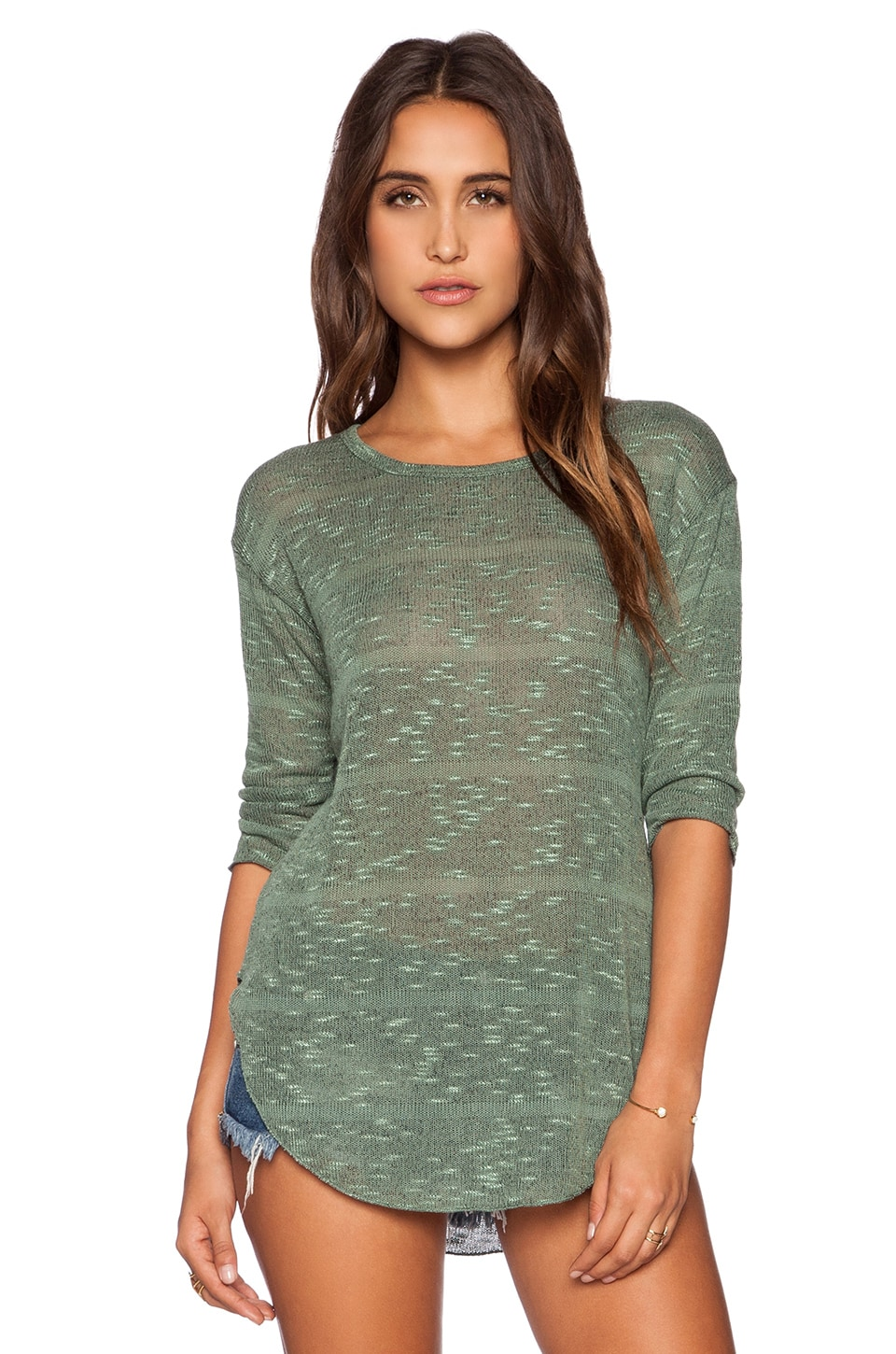 LNA Sweater in Jade