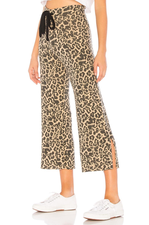LNA Leopard Kismet Pant in Leopard