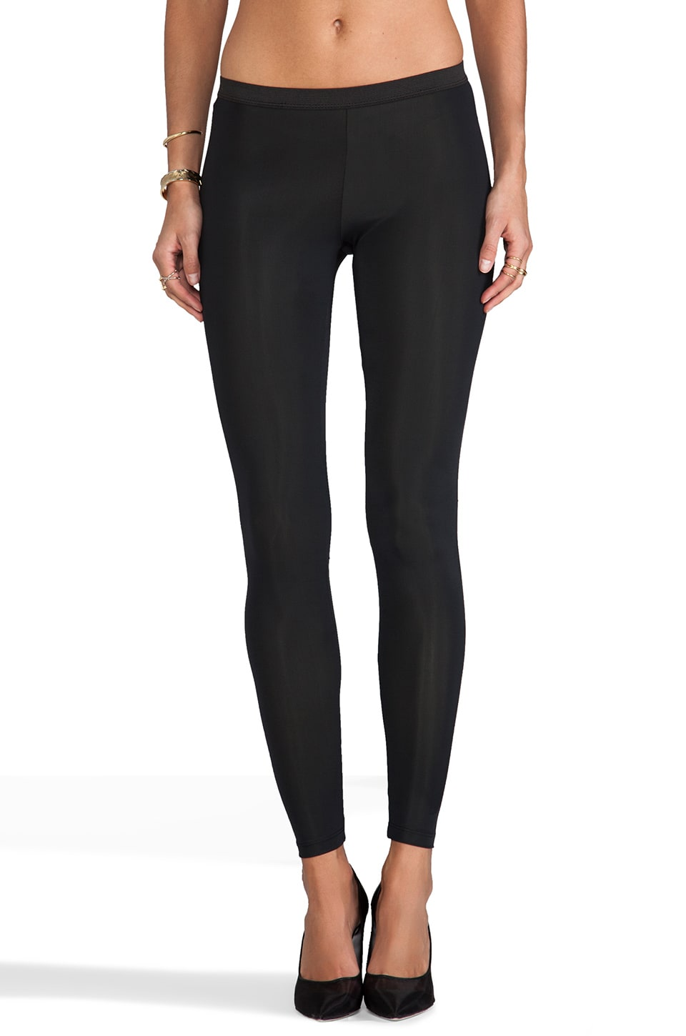 LNA Low Rise Basic Legging in Black