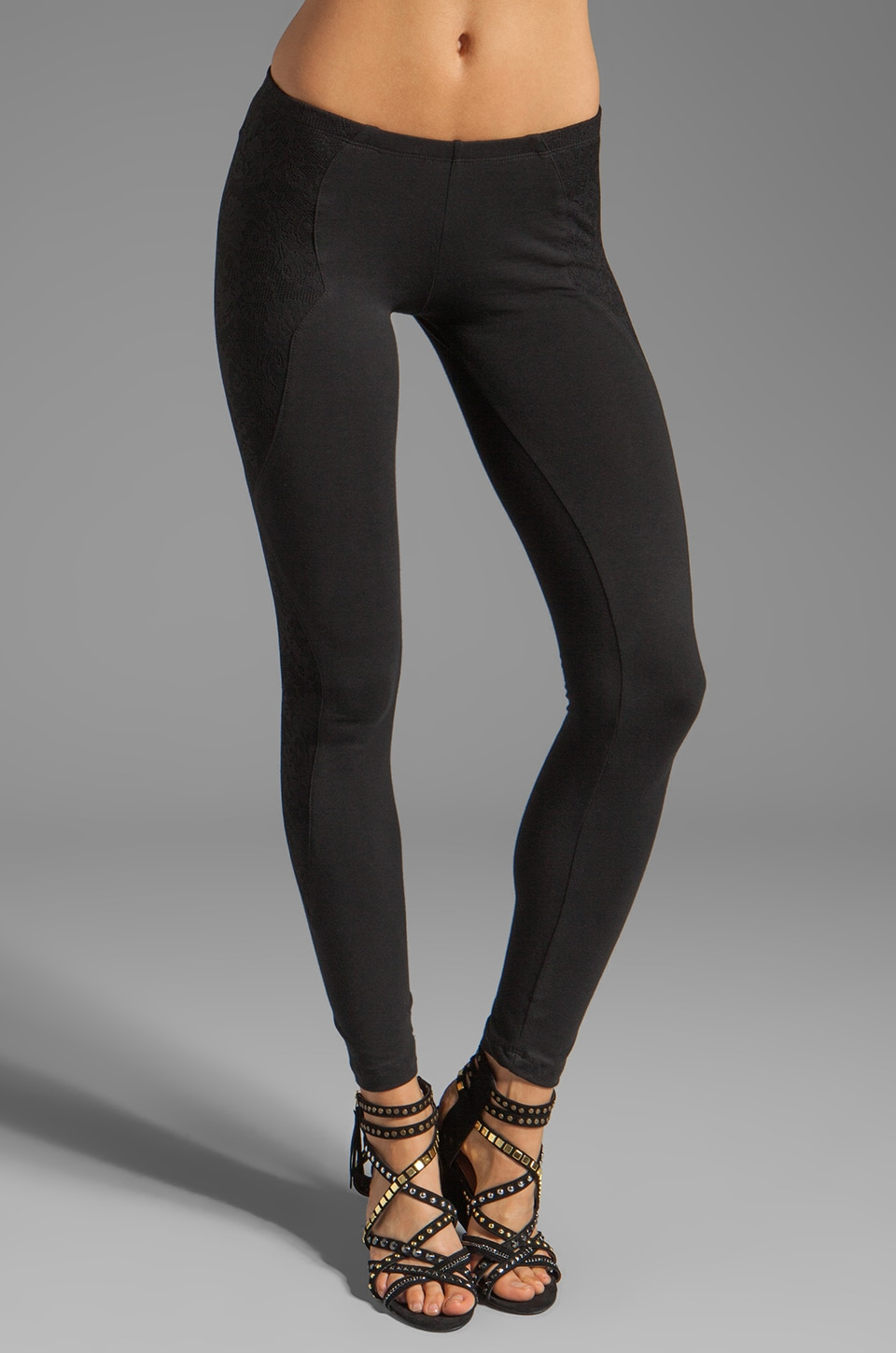 LNA Bowie Legging in Black