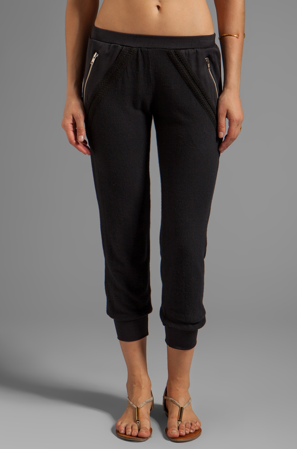 LNA Sadie Pant in Black