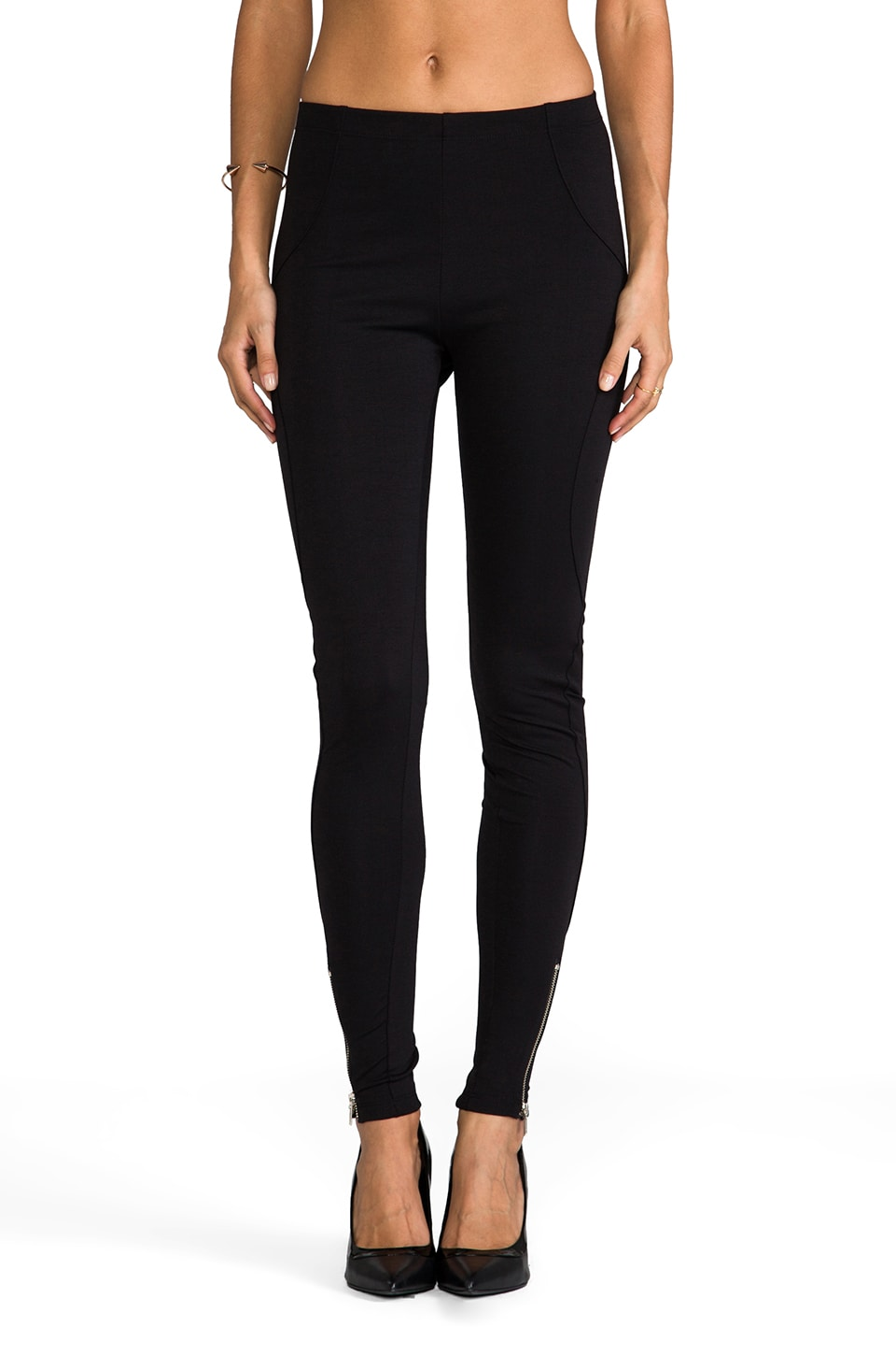 LNA Rodeo Legging in Black