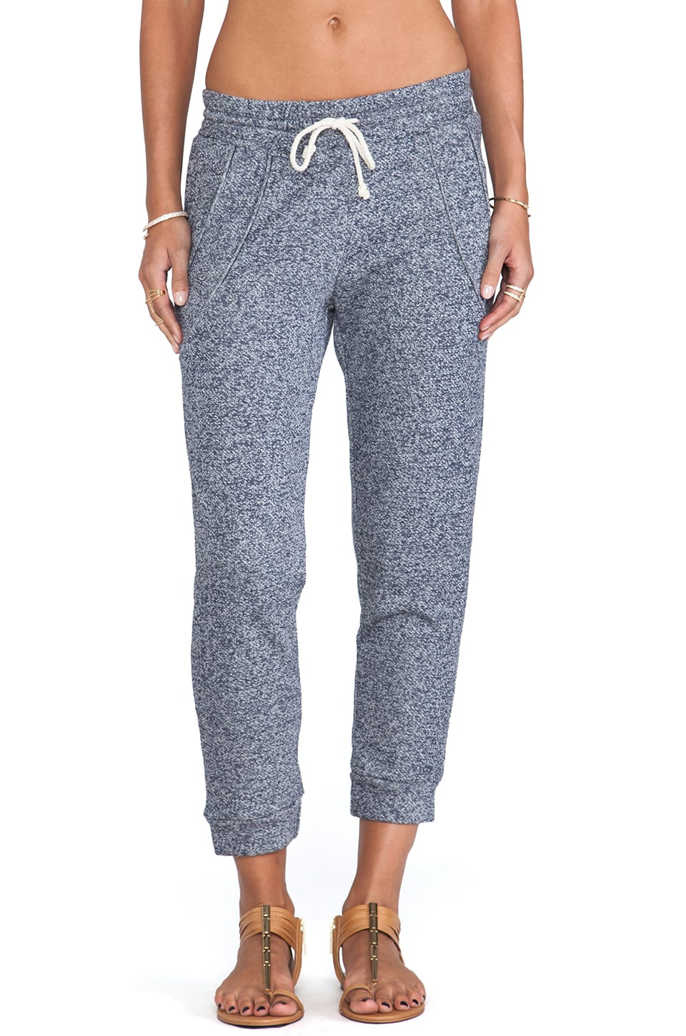 LNA Miller Sweatpant in Navy