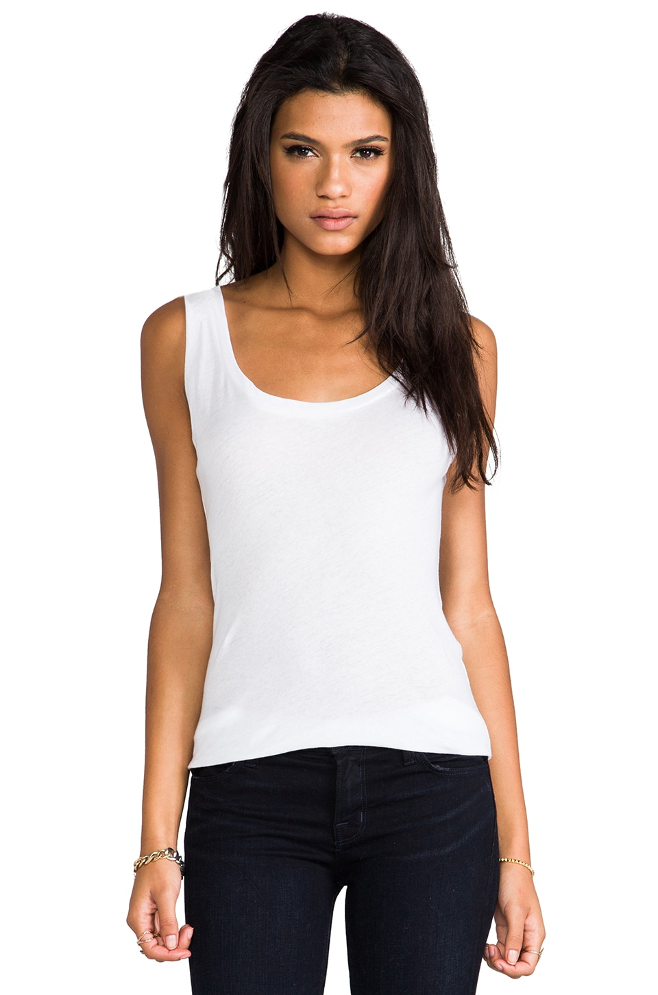 LNA Boy Tank in White