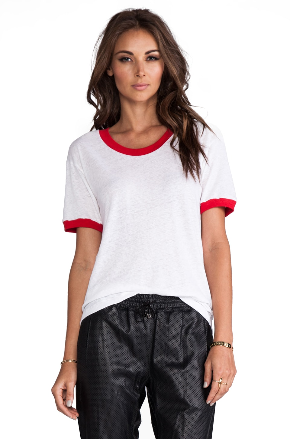 LNA Binger Tee in White