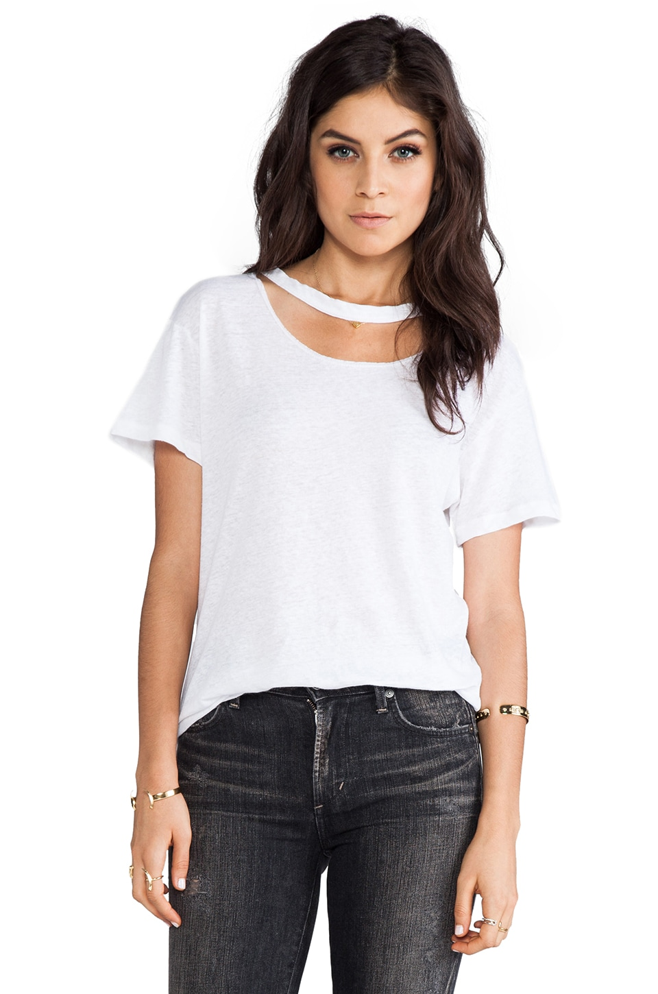 LNA Chelsea Tee in White