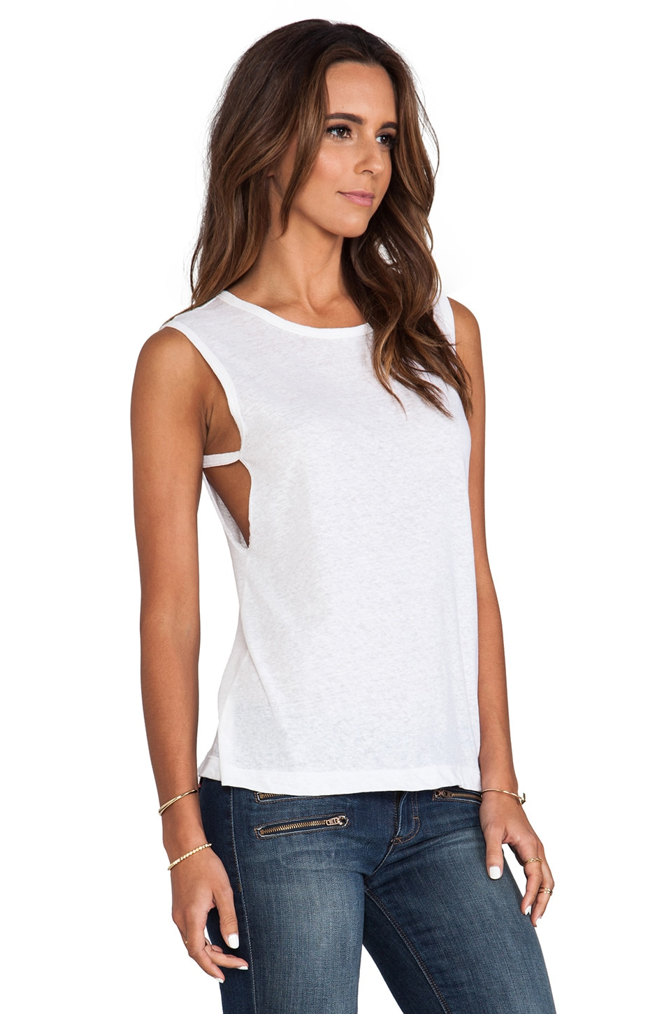 LNA Vista Tank in White