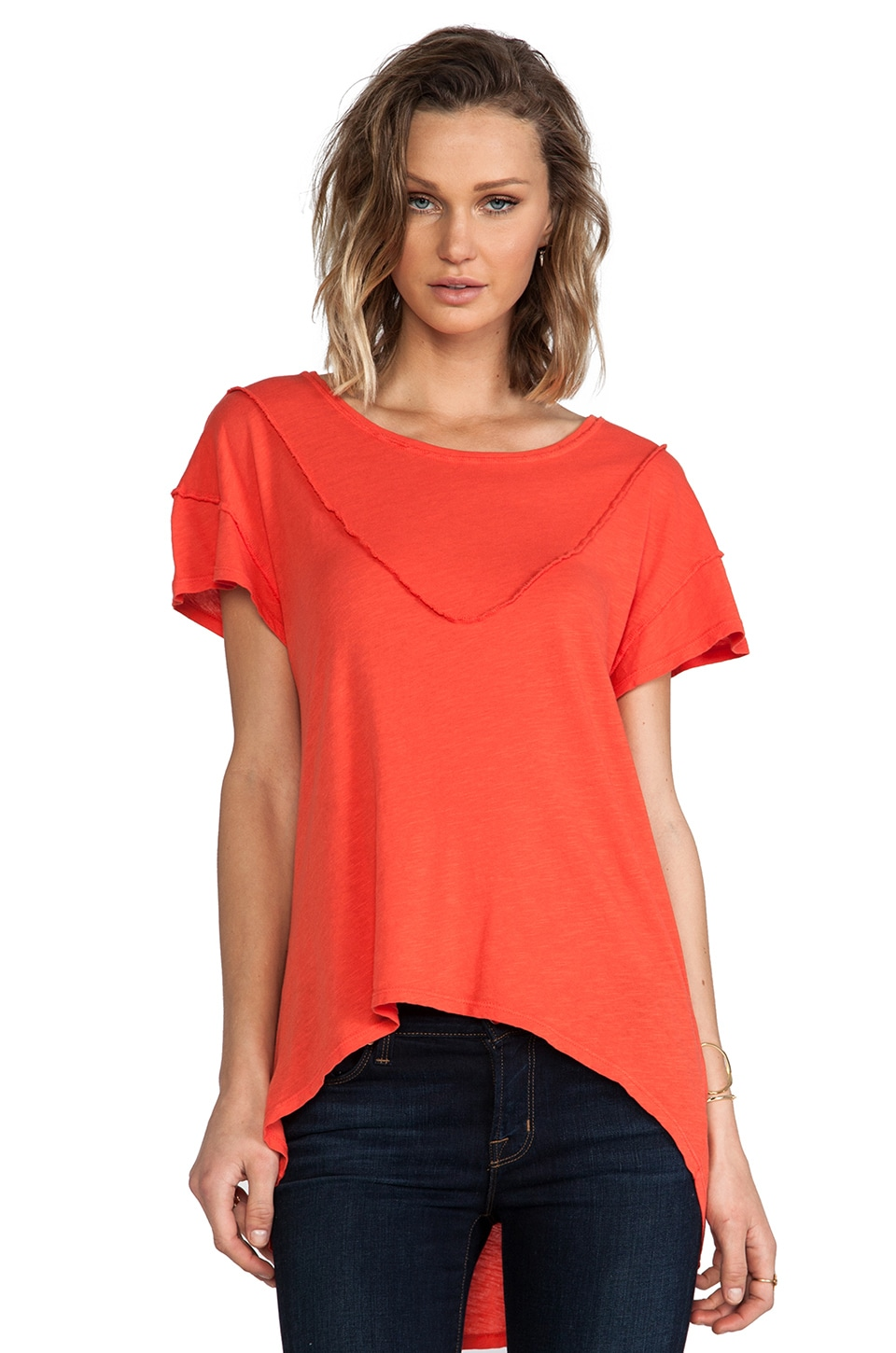 LNA Sebastian Tee in Red