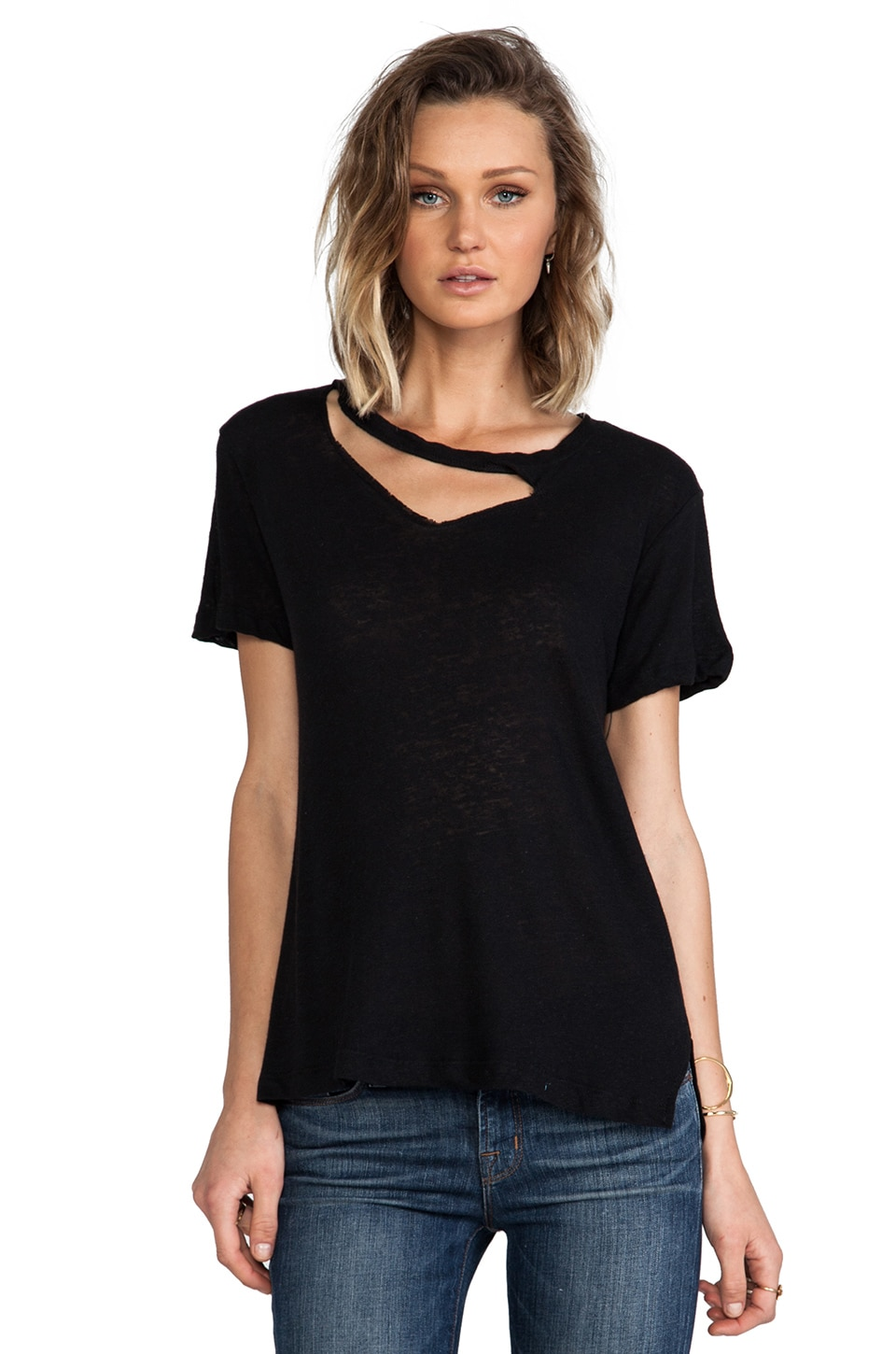 LNA Ixtapa Tee in Black