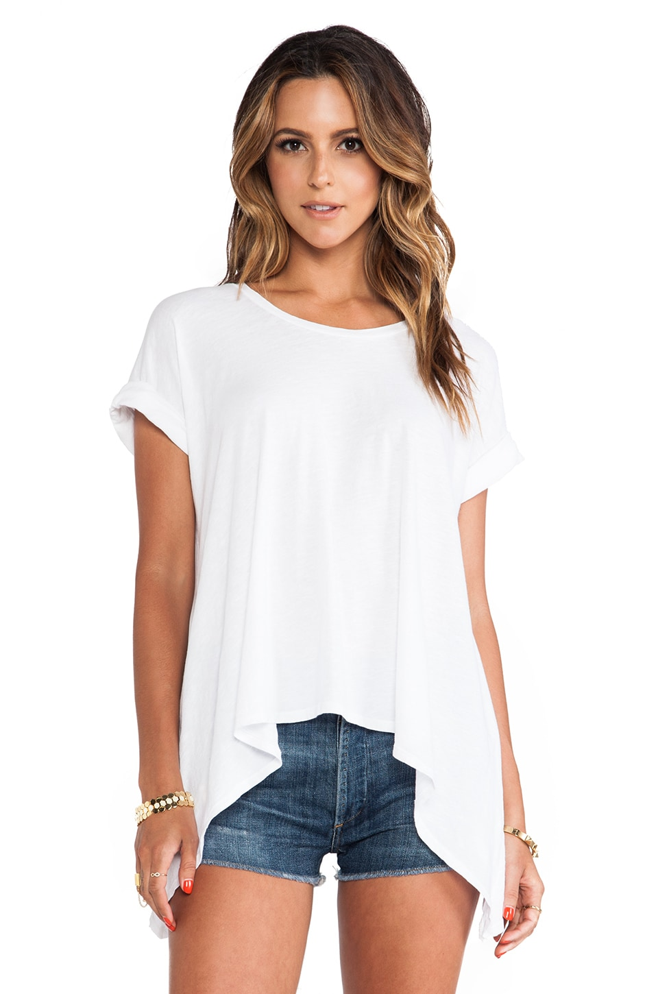 LNA Isabel Tee in White