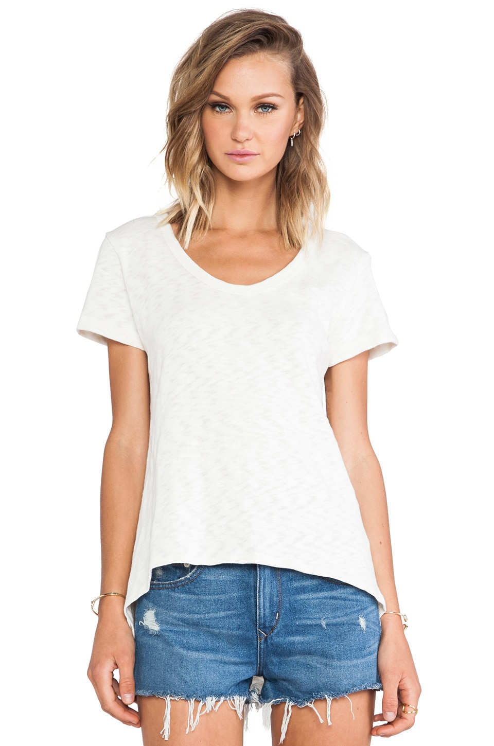 LNA Tallulah Tee in Natural