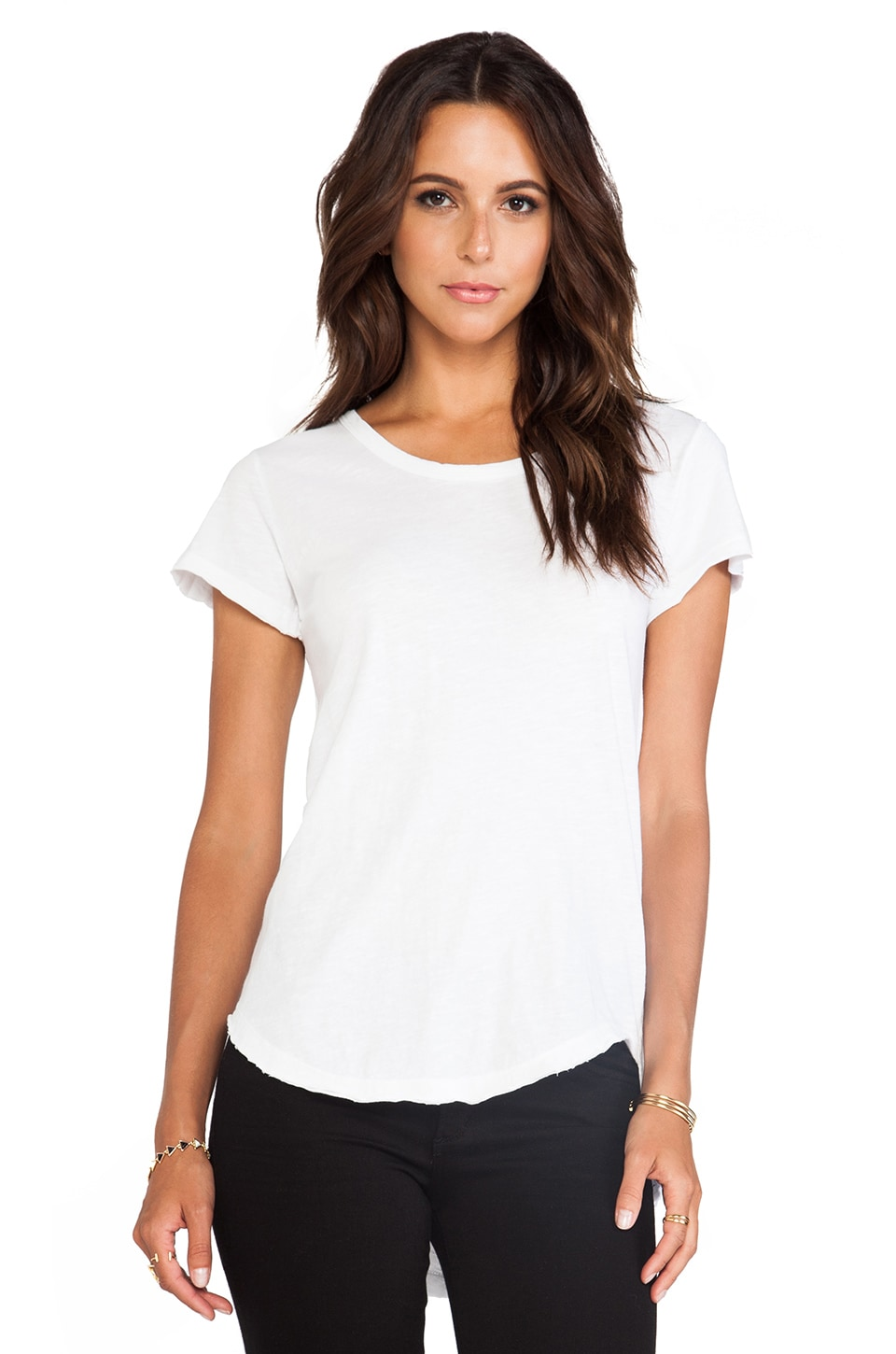 LNA Banks Tee in White