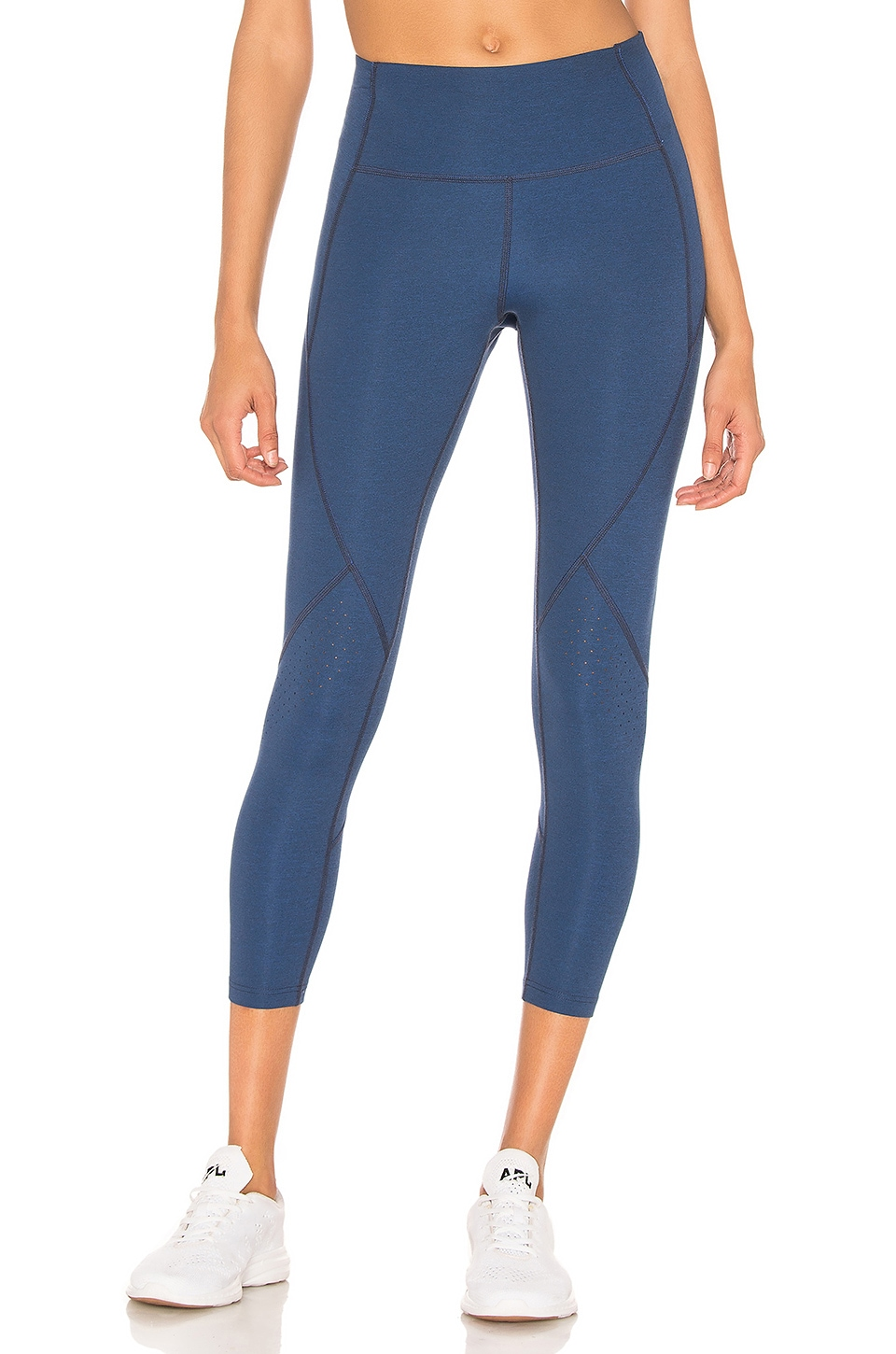 LNDR Scuba Ultra Form Legging in Cobalt Marl