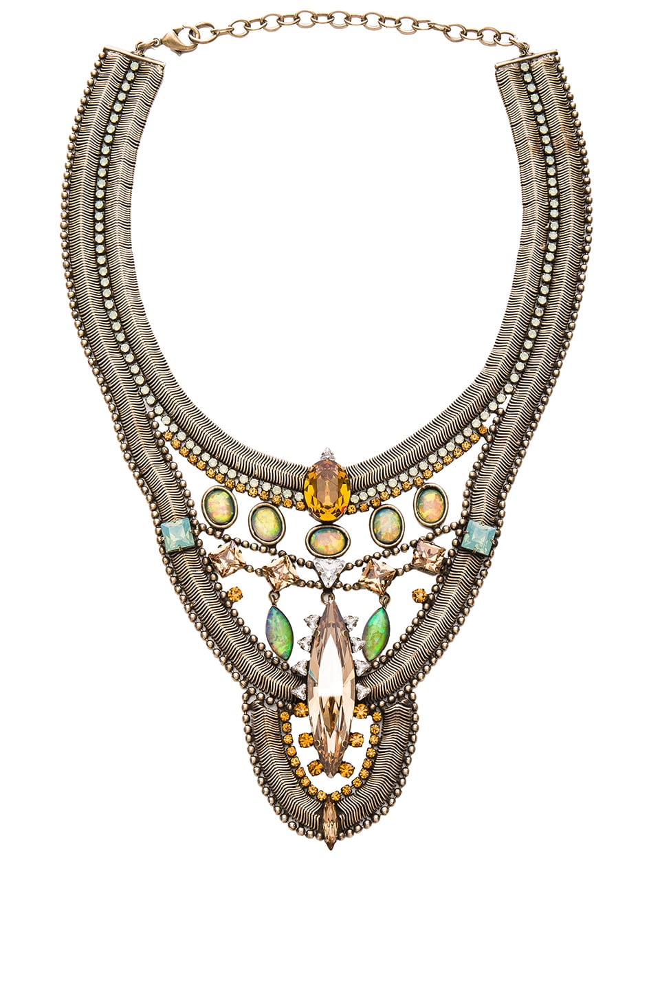 Lionette by Noa Sade x SINCERELY Jules Havana Necklace in Gold