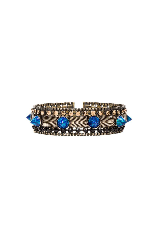 Lionette by Noa Sade Gilmore Bracelet in Blue Opal