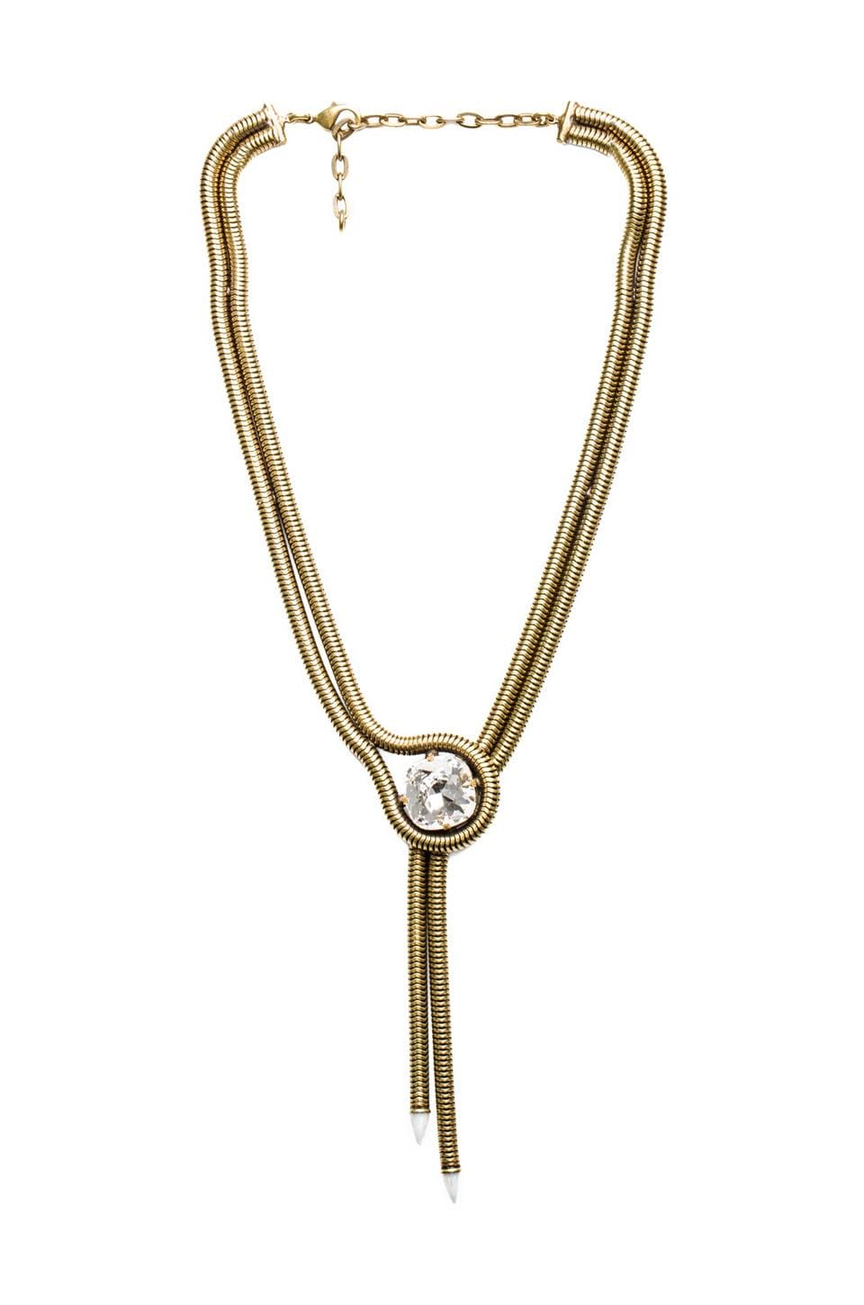 Lionette by Noa Sade Harlow Necklace in Clear