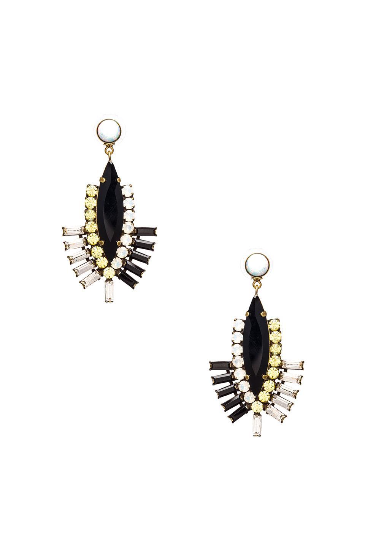 Lionette by Noa Sade Tokyo Earrings in Black
