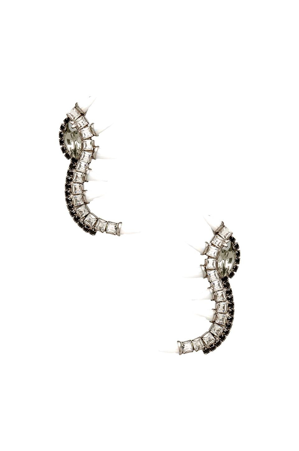 Lionette by Noa Sade Orian Earrings in White