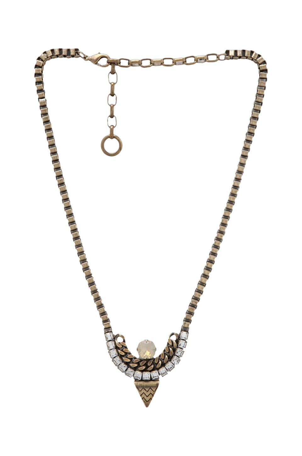 Lionette by Noa Sade Tribeca Necklace in Clear