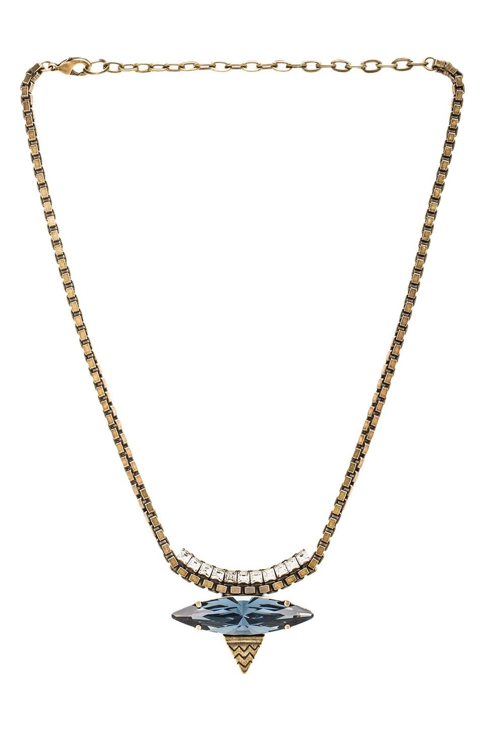 Lionette by Noa Sade Harlem Necklace in Midnight