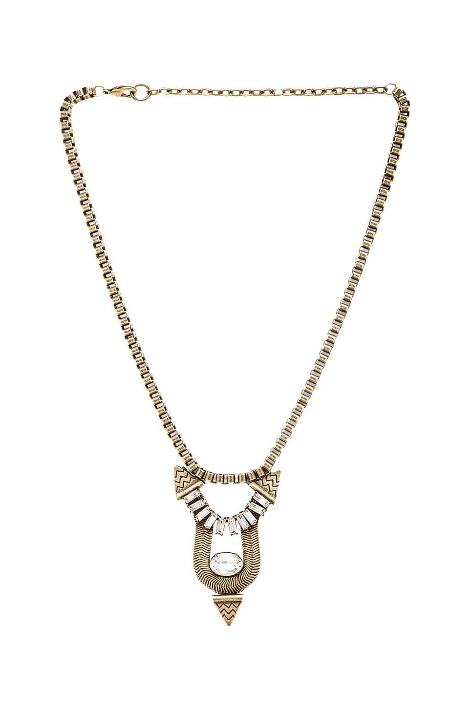 Lionette by Noa Sade Santiago Necklace in Clear