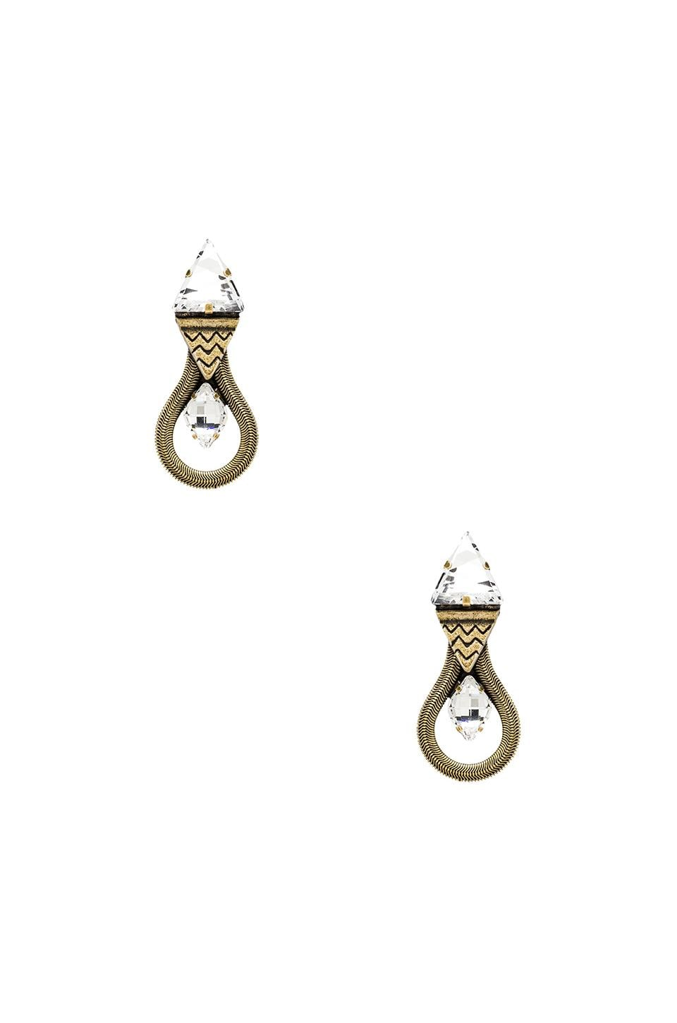 Lionette by Noa Sade Mirella Earring in Clear