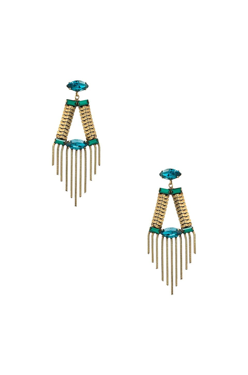 Lionette by Noa Sade Greenwich Earrings in Blue