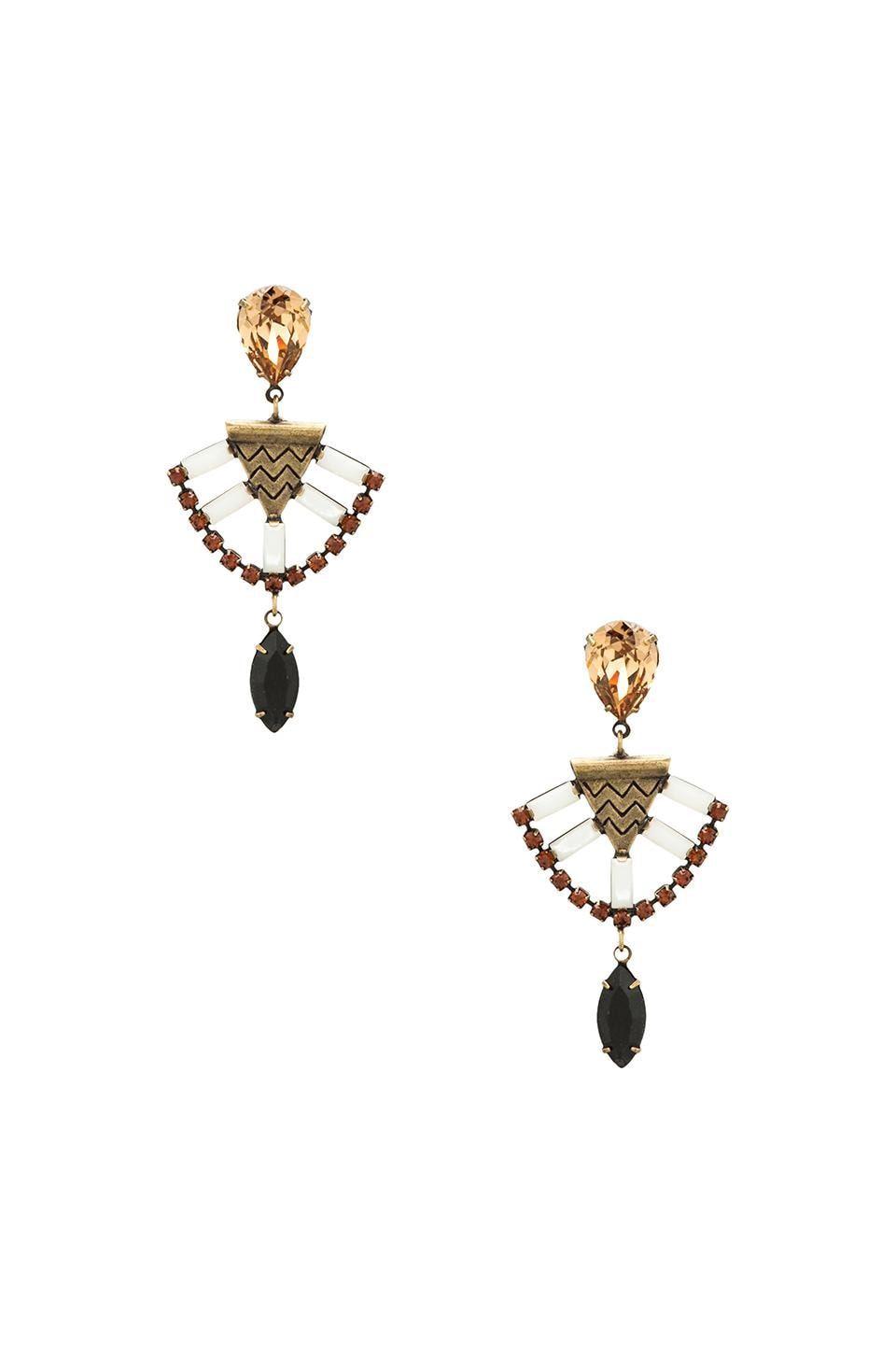 Lionette by Noa Sade Mercer Earrings in Black