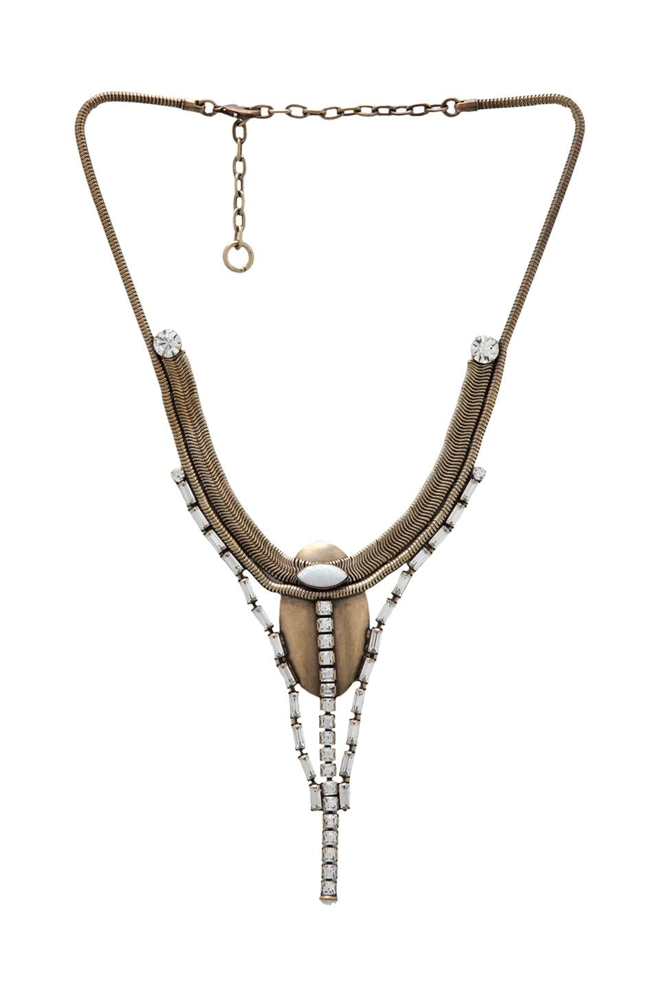 Lionette by Noa Sade Talia Necklace in White