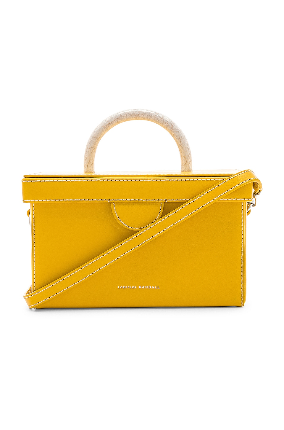 Loeffler Randall Box Bag in Dandelion