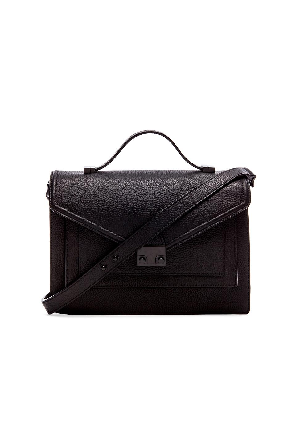 Loeffler Randall Rider Satchel in Black