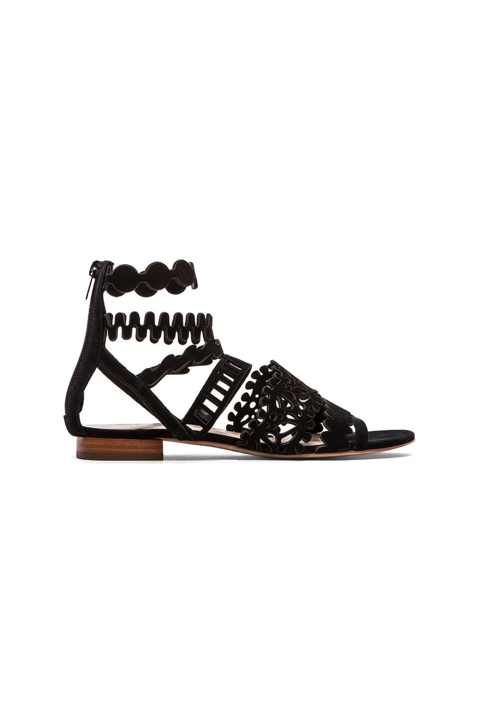 Loeffler Randall Dixie Sandal in Black