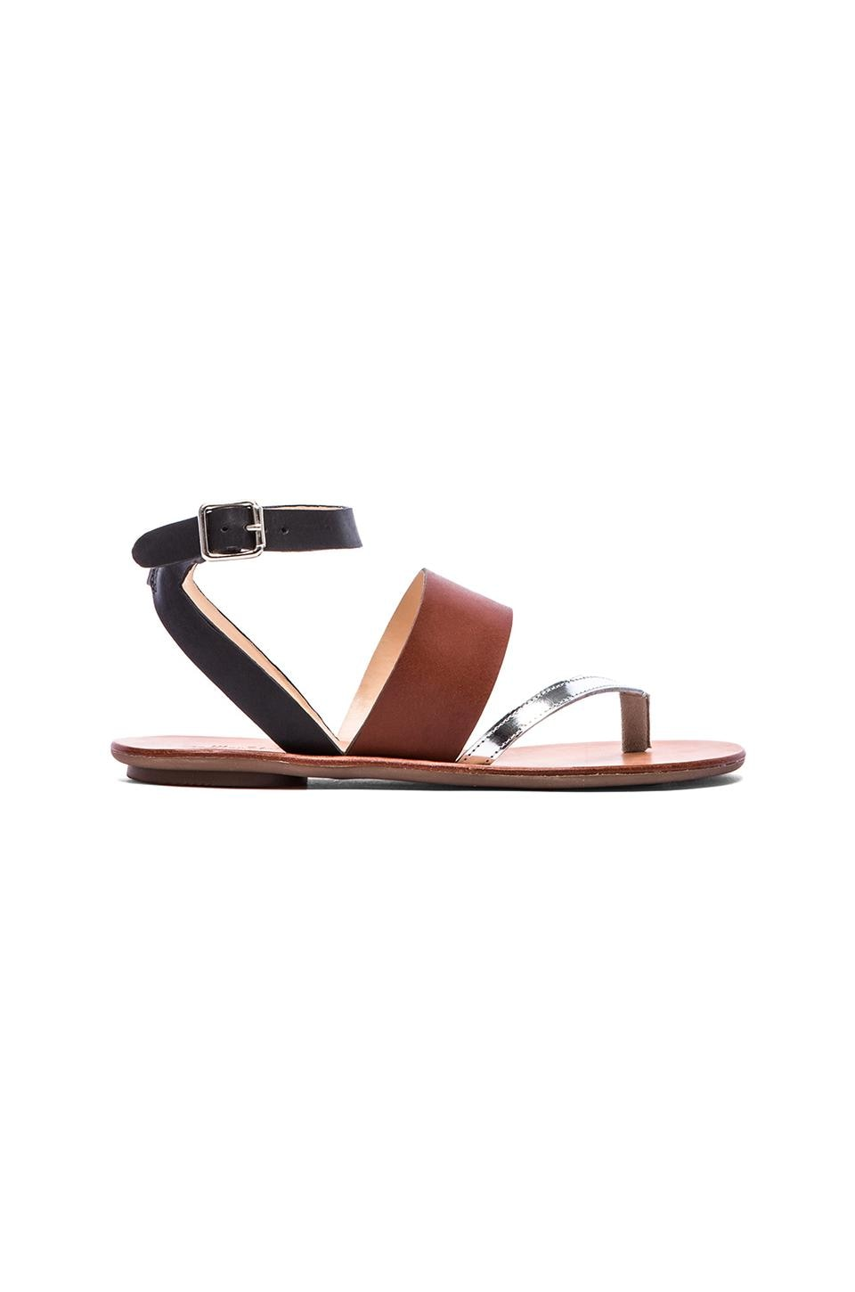 Loeffler Randall Sunny Sandal in Saddle Mix