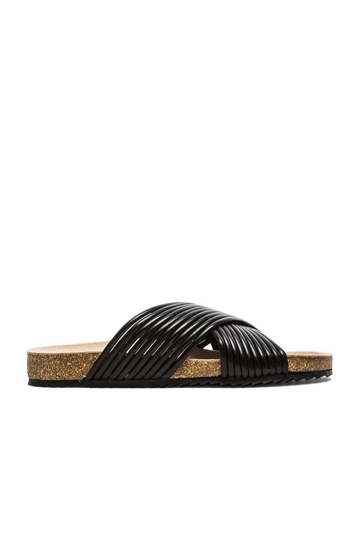 Loeffler Randall Petra Sandal in Black