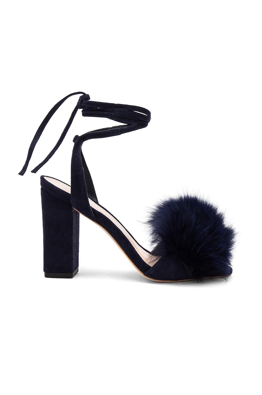 Nicolette Fox Fur Heel by Loeffler Randall