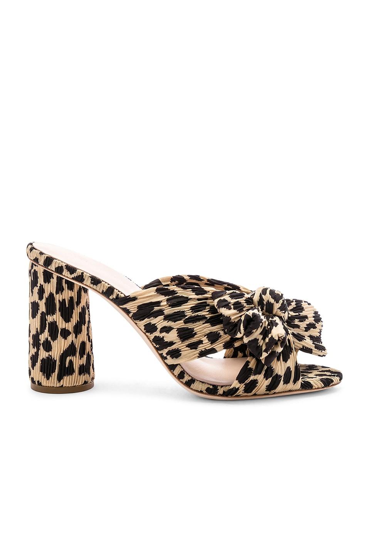Loeffler Randall Penny Knot Mule in Leopard