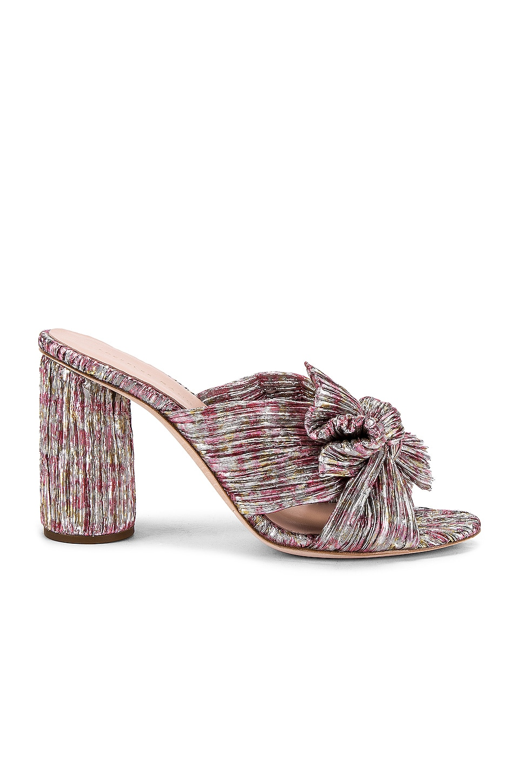 Loeffler Randall Penny Knot Mule in Pink Multi Floral