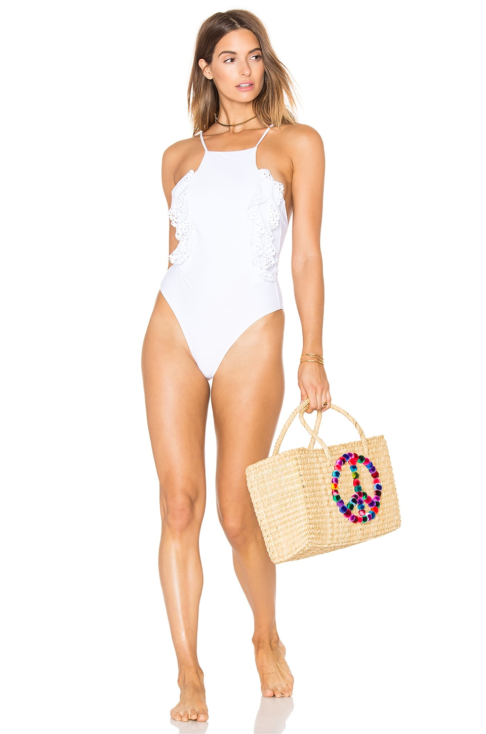 Whip Cream One Piece by Lolli Swim