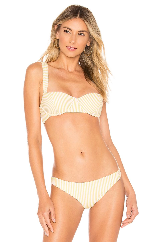 lolli swim Cupcake Bikini Top in Butterscotch