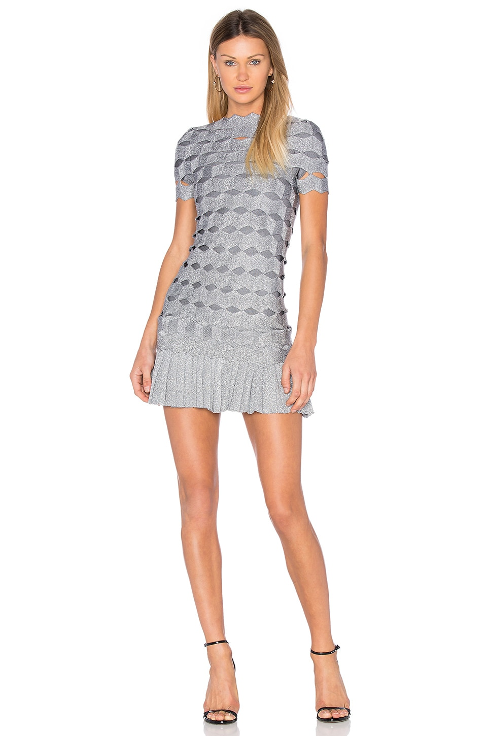 Joana Zig Zag Mini Dress by LOLITTA