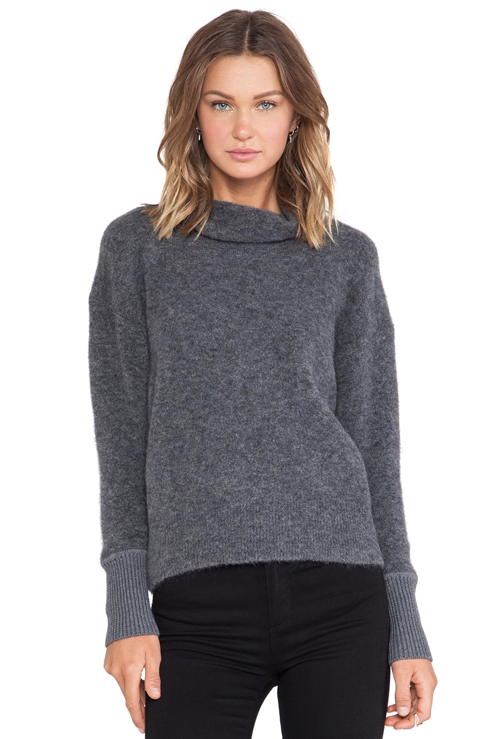 LOMA Corine Sweater in Grey Melange