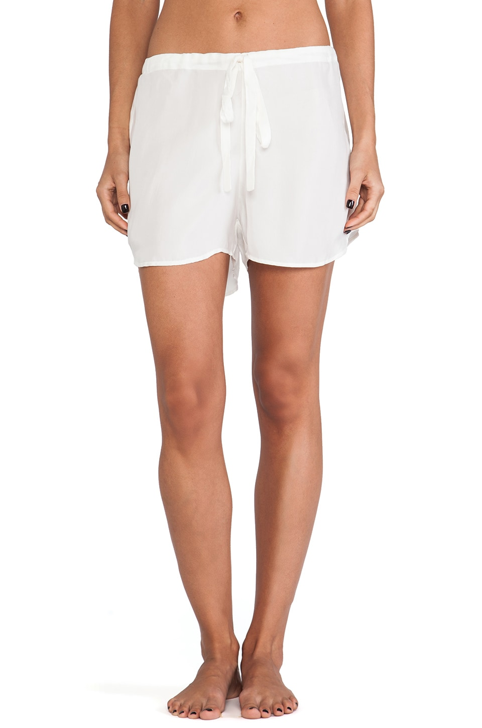 Lonely Drawstring Short in Ivory