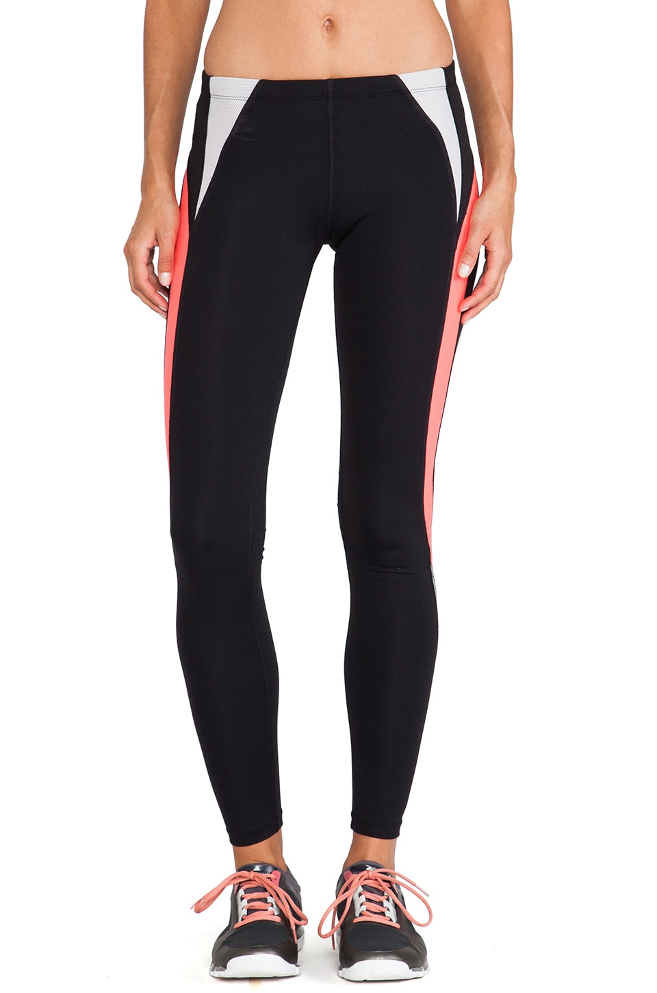 Lorna Jane Fierce Core Stability Full Length Tight in Black