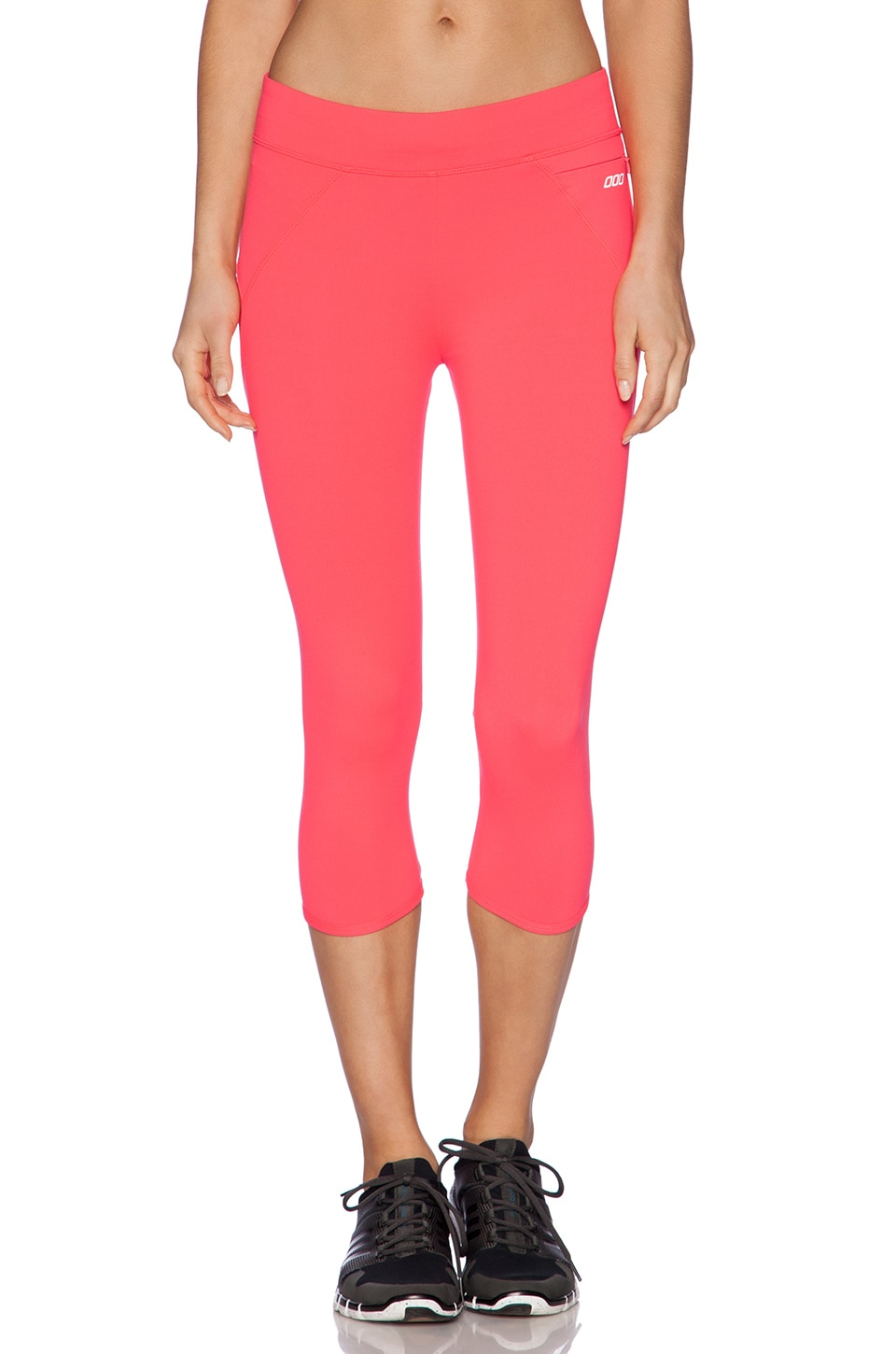 Lorna Jane Amy 3/4 Legging in Cupid Red
