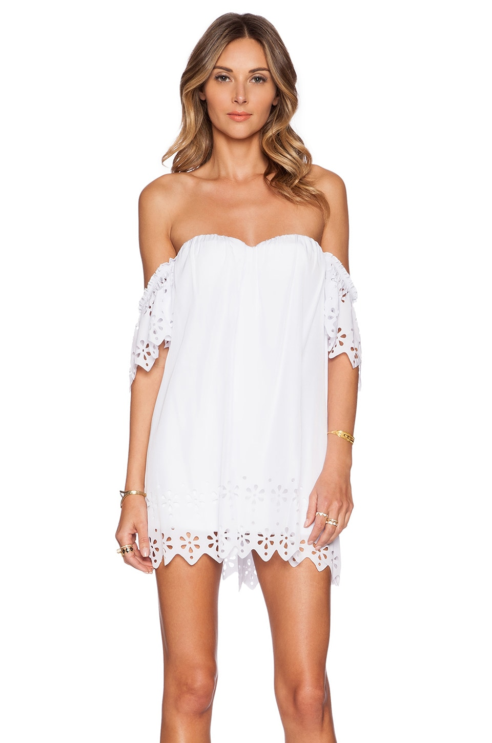 Le Salty Label Laylah Open Back Dress In White | ARCHFASHION