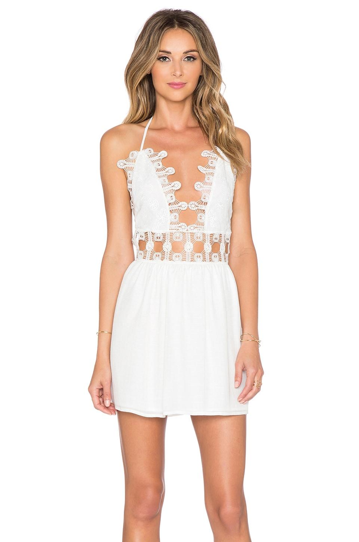 Le Salty Label x REVOLVE Mini Dress in Ivory